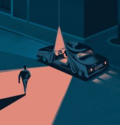 Editorial illustration to accompany an article about the ride-hailing company, Juno. Graphic Design Illustration, Graphic Art, Illustration Art, Illustration Example, Op Art, Cover Design, Ui Design, Wonderful Day, New Retro Wave