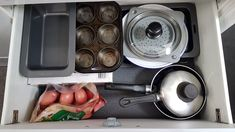 12 Caravan Storage and Organisation Ideas That Work - All Around Oz Caravan Living, Bathroom Cupboards, Organisation Ideas, Coat Hanger, Finding A House, Shoe Storage, Folded Up, Foot Rest, Tea Towels