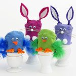 Good Eggs: Unbelievably Cute Easter Crafts:  (via Parents.com)