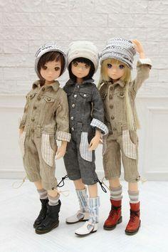 Ruruko dolls. by Sekiguchi japan. #momoko #doll