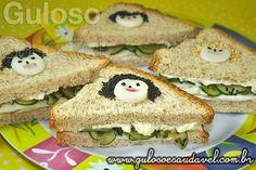 Sanduíche Natural Divertido » Receitas Saudáveis, Sanduíches » Guloso e Saudável