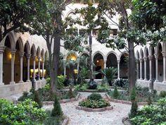 In the Eixample, the Claustro de la Purisima Concepcion impresses as a charming hidden gem of Barcelona