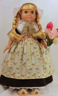 American Girl/18 inch Doll Clothes - Dutch Treat.
