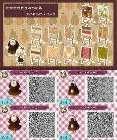 Animal Crossing: New Leaf QR Codes and Designs http://24.media.tumblr.com/070c55694c4f9247ebe5f8d179f32e5e/tumblr_mjog46jnj21rmg5sio8_1280.png