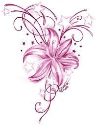 hawaiian flower tribal tattoos - Google Search