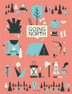 going north  / schnuppe