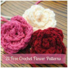 21 Free Crochet Flower Patterns + Daisy Video | AllFreeCrochet.com