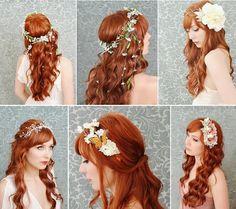 Jak dbać o długie włosy?: Piątkowa Inspiracja Włosowa (38) - ślubna fryzura z długich włosów