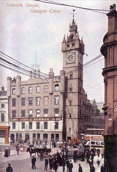 Glasgow Cross, Tolbooth Steeple