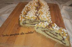 Ideale per la colazione, vi propongo questa deliziosa torta semplice alla nutella, un dolce rotolo farcito semplicissimo da preparare!