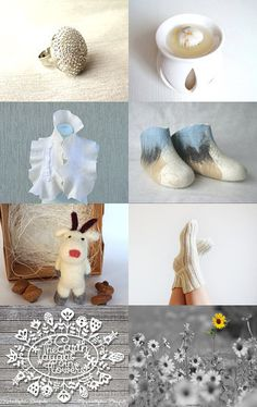 White decor gift by Dovile on Etsy--Pinned with TreasuryPin.com