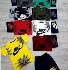 Nike Outfits, Boy Outfits, Nike Clothes Mens, Nike Running Shirt, Boy Fashion, Mens Fashion, Surf Wear, Boys Shirts, Swim Shorts