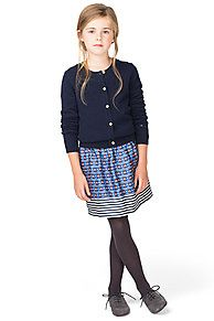Foulard Striped Skirt - 428, from Tommy Hilfiger