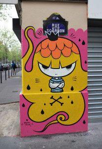 Pum Pum, Paris 11, rue scarron, 2013-05-07 Argentine http://murmuresdemurs.wordpress.com/2013/05/26/pum-pum/