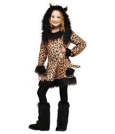 Lovely Little Leopard Girls Costume  sc 1 st  Pinterest & cheetah costume | Things Iu0027ve made | Pinterest | Cheetah costume ...