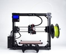Aleph Objects announces LulzBot TAZ 5 printer and partnership with filament suppliers Arduino, 3d Printer Reviews, Product Development Process, Desktop 3d Printer, 3d Printing News, Diy Cnc, Home Jobs, 3 D, Objects