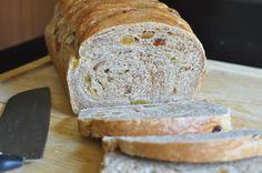 Apple Cinnamon Raisin Bread | Red Star Yeast ~ Apple juice, cinnamon, and raisins - a subtle blend of flavors, a marvelous loaf of bread!