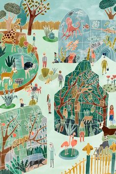 Poster by illustrator Bodil Jane for ohmyhome