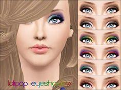 Pralinesims' Lollipop Eyeshadow