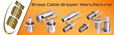 We are a leading Manufacturer of #BrassCableGripper such as #BrassSmallCableGripper, 3 8 Cable Grippers and Brass Wire Gripper from India.