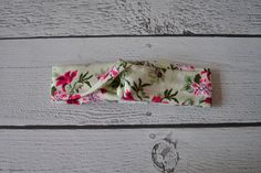 Honeydew Floral Thick or Thin Turban Style Headband for Women