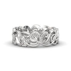 Sterling Silver Ring | Poseidon Band | Gemvara