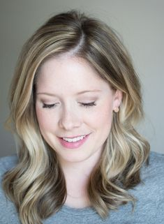 The Small Things Blog — love how she's been adding more lowlights so close to her natural color