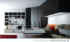 20 Teenage Boys Bedroom Designs