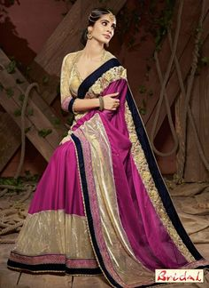 Its a master piece in its class glorifying your timeless beauty. Get the simplicity and grace with this mystic purple faux chiffon designer saree. The…