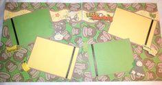 Monkey Scrapbook Layout  www.ctscrapbooks.com