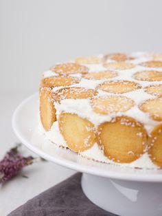 Pradobroty: Smetanovo-tvarohový dort s dětskými piškoty Sweet Life, French Toast, Food And Drink, Breakfast, Morning Coffee, Dolce Vita