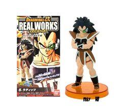 Dragon Ball Z Kai REAL WORKS - Raditz - Bandai Figure