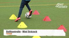 Mini Zickzack - Ballkontrolle - Technik