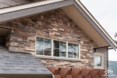 @Gsharrisco Mason's Choice (Color: Chantilly) from Kodiak Mountain Stone ----- www.KodiakMountain.com ----- #KodiakMountainStone Stone Gallery, Manufactured Stone, Choices, New Homes, Mountains, Outdoor Decor, House Ideas, Color, Instagram