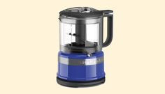 Buy a mini food processor to keep on hand for quick, little jobs (weeknight meals), and save your giant food processor for more involved jobs (ambitious weekend meals).