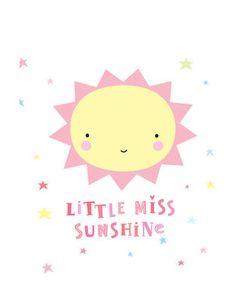 Simple Wandsticker Miss Sunshine