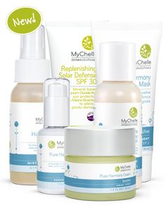 MyChelle Pure Harmony Collection Featured on Spa Week Daily