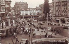 Postcard of Amsterdam, postmarked 1955.