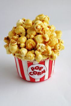 The Whimsical Wife: Tasty Tuesday..... Caramel Popcorn Cupcake