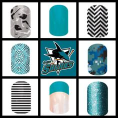 Proven targeted nutritional supplements, amazing nail designs, and unmatched opportunities for a home-based business. Jamberry Style, Jamberry Nail Wraps, San Jose Sharks, Mani Pedi, Nail Inspo, Cute Nails, Nail Designs, Beauty, Pretty Nails