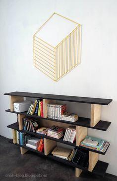Ohoh Blog - diy and crafts: DIY wall decoration / Decoracion de pared
