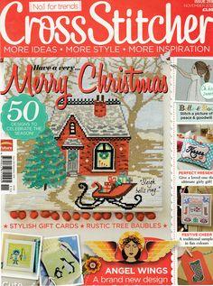Cross Stitcher Magazine Issue 259 November 2012 Unmarked with Sealed Christmas…