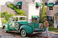 ♥ this truck... from Coastal Living mag