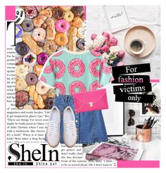 """""""Shein donut"""" by gabygirafe ❤ liked on Polyvore"""