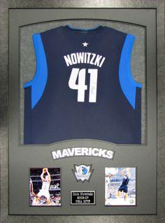 Nowitzki of Maverick Basketball Custom Framing. We frame anything! Call for  a free custom 54dab70be
