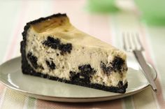 OREO CHEESECAKE  If it seems like a shame to crush the OREO Cookies before you get to eat them, one bite of this delectable cheesecake will change your mind.