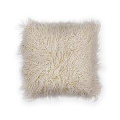 Ivory Shaggy x Square Pillow. Hand-Made of faux fur with double-sided plush pile and a hidden zipper closure. with Polyester Fiber Filling. Made in China. Spot Clean Only with Mild Detergent and Water. Test a small area first. Small Pillows, Decorative Pillows, Fur Pillow, Throw Pillows, Laura Ashley Pillows, Pillow Arrangement, Novelty Gifts, Shaggy, Pillow Design
