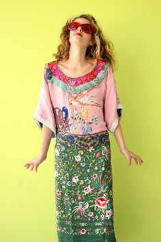 Fin de Siecle Kimono Dress First Installment by rubypearl on Etsy