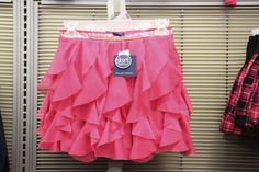 Pink Ruffled Skort (available only in stores) Click image to see weekly ad #MeijerKidslooks #BacktoSchool
