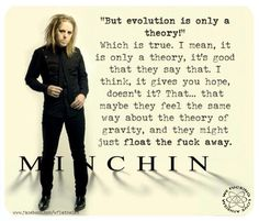 Evolution - Tim Minchin
